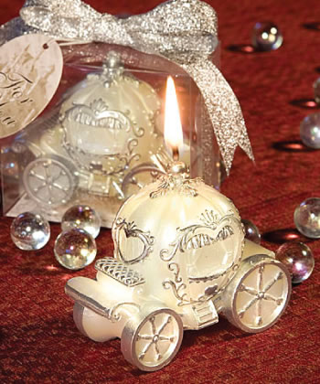 Coach Design Candle Favors wedding favors