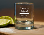 Round Shot Glass/votive Candle Holder wedding favors