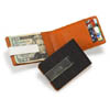 Personalized Metro Leather Wallet/Money Clip wedding favors