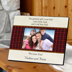 Father's Poem Frame wedding favors