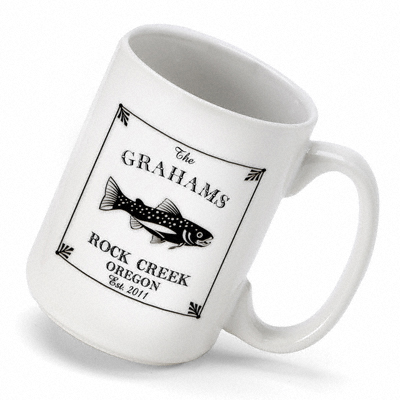Cabin Series Coffee Mug (15 oz.) wedding favors