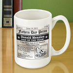 Father's Day Headline Coffee Mug (15 oz.) wedding favors