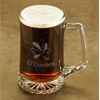 Personalized Shamrock Beer Mug wedding favors