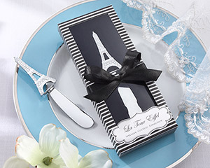 """La Tour Eiffel"" Stainless-Steel Spreader wedding favors"