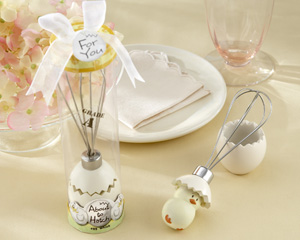 """About to Hatch"" Stainless-Steel Egg Whisk in Showcase Gift Box wedding favors"
