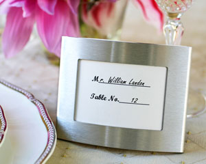 Elegant Arc Photo Frame and Placeholder wedding favors