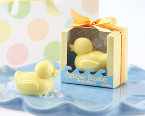 Rubber Ducky Soap wedding favors
