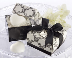 """Sweet Heart"" Heart-Shaped Scented Soap with our Signature Charm wedding favors"