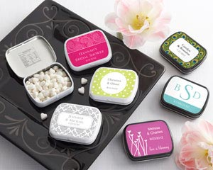 Personalized Mint Tins (165 Design Choices!) - Wedding wedding favors