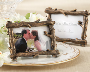 """Scenic View"" Tree-Branch Place Card/Photo Holder wedding favors"
