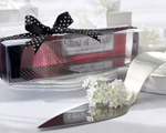 """Slice of Style"" Stainless Steel High Heel Cake Server wedding favors"