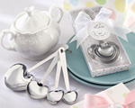 """Love Beyond Measure"" Stainless-Steel Measuring Spoons Baby Shower Favor wedding favors"