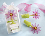 """Blooming"" Flower Bottle Stopper in Whimsical Window Gift Box wedding favors"