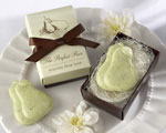 """The Perfect Pair"" Scented Pear Soap wedding favors"