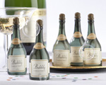 """Bubbly"" Champagne Bubbles wedding favors"