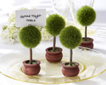 "Topiary Photo Holder/Place Card Holder  ""As Seen in Modern Bride Aug/Sept 2008"" wedding favors"