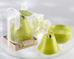 """The Perfect Pair"" Ceramic Salt & Pepper Shaker wedding favors"
