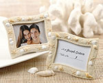 'Seaside' Sand and Shell Placecard Holder wedding favors