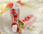 """About to Pop!"" Popcorn Favor Box wedding favors"