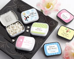 Personalized Mint Tins (165 Design Choices!) - Baby Shower wedding favors