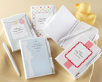"""Noteworthy Couple"" Personalized Journal and Pen - Baby Shower wedding favors"