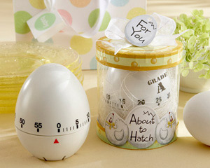 """About to Hatch"" Kitchen Egg Timer in Showcase Gift Box wedding favors"