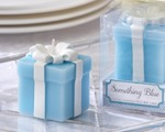 """Something Blue"" Wedding Gift Candle (Set of 4) wedding favors"