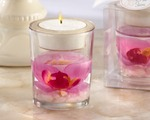 """Elegant Orchid"" Tealight Holder wedding favors"