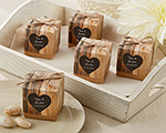 """Hearts in Love"" Rustic Favor Box (Set of 24) wedding favors"