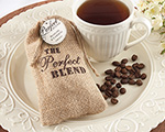 The Perfect Blend Burlap Bag (Set of 12) wedding favors