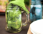 Personalized Mason Jar Mug Party Favor 16 OZ wedding favors