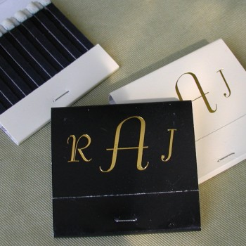 Personalized Matches - 3 Letter Monogram wedding favors