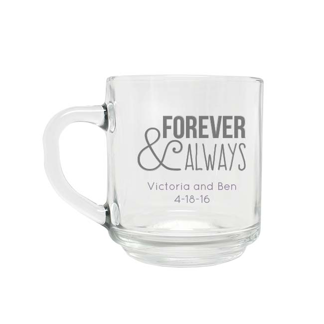Engraved Handy Mug wedding favors
